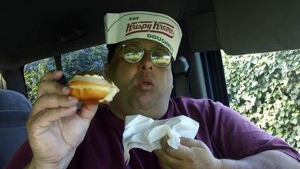 Krispy Kreme Pumpkin Cheesecake & Spice Doughnut REVIEW!!