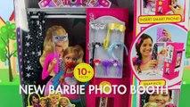New Toy: Anna & Elsa do Selfies at Barbie Sisters Photo Booth. DisneyToysFan
