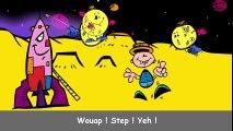 Chanson pour enfant Swing la Lune en dessin animé de Stéphy, version complète en français  Dessins Animés En Français