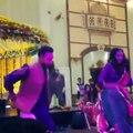 Maya ali Dancing at her sister's wedding
