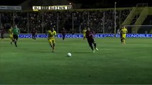 Lo tuvo Caute. Olimpo 0 - San Lorenzo 2. Fecha 3. Primera División 2015.