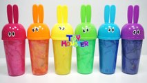 Learn Colors Clay Slime Surprise Toys Minecraft My Little Pony Minions Toystory Zombie Monster