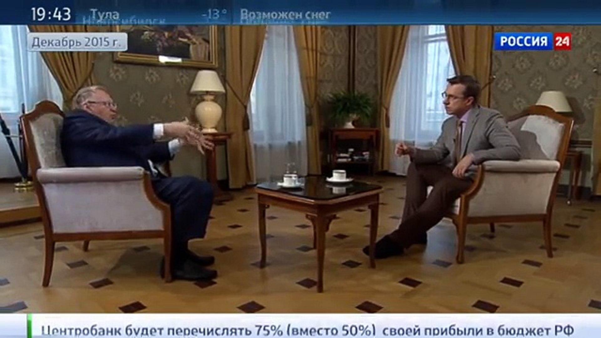Жириновский: политика в отношении Сирии резко подняла международный авторитет России. video