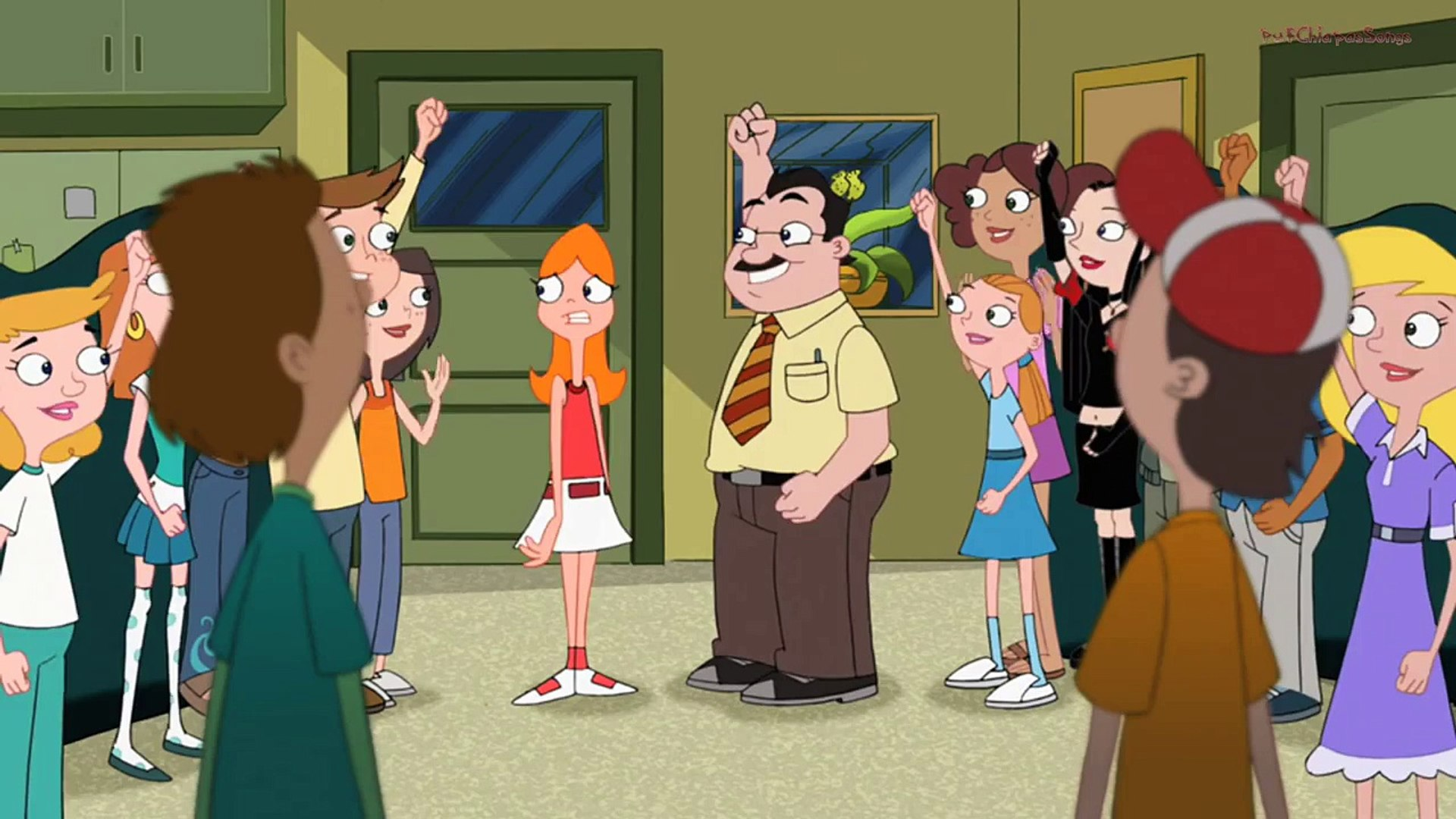Phineas And Ferb Song English Candace Party Video Dailymotion