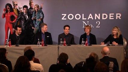 ZOOLANDER 2 - les acteurs à Paris (Conférence de Presse)
