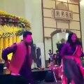 Maya Ali Dancing At Wajhi's Mehndi Leak Video