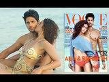 Alia & Sidharth Vogue India Magazine Photoshoot Alia Bhatt in Bikini with Hot Sidharth Mal