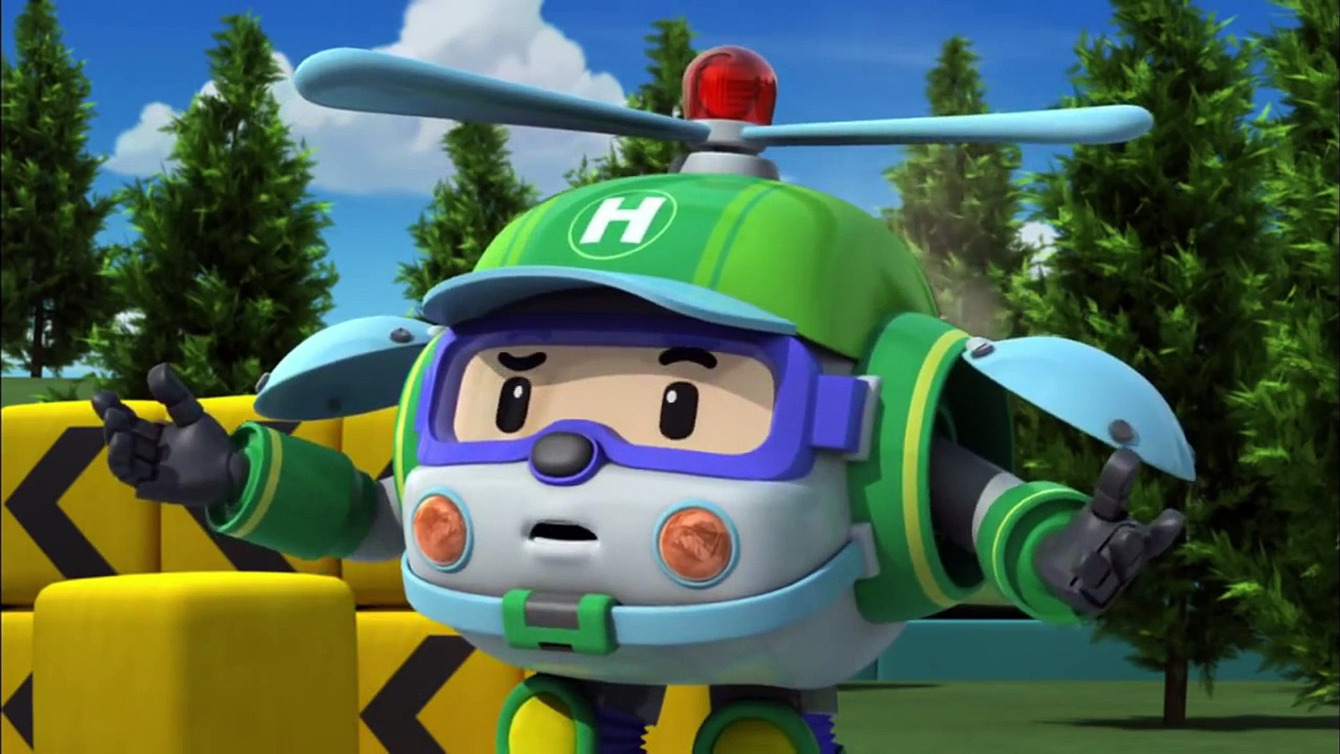 Robocar Poli S1 25 Be Healthy Dailymotion Video
