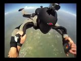 Wingsuit landing without deploying a parachute(1)