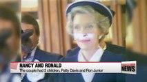 Former U.S. First Lady Nancy Reagan dies aged 94