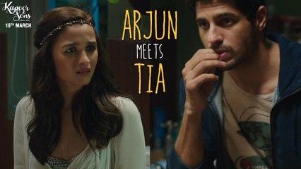 Kapoor & Sons | Arjun Meets Tia | Dialogue Promo | Sidharth Malhotra & Alia Bhatt