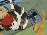 Naruto-Rock Lee vs Gaara: Legend of the Uber Hax