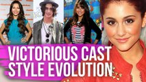 """""""Victorious"""" Cast Style Then & Now"""
