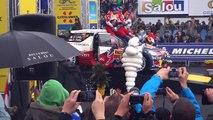 WRC Rally Costa Daurada 2012 podium Salou Sebastian Loeb y Daniel Elena