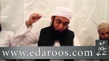 Khana Kaba Ki Tameer Aur Hajr e Aswad Ki Tanseeb By Maulana Tariq Jameel ka khubsurat andaaz
