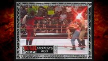 Kane Shoots Triple H w/ Fireball & Inadvertently Hits Chyna in the Face 3/8/99