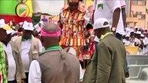 Congo, Denis Sassou Nguesso fait campagne à Ewo