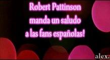 Robert Pattinson hablando español- [Rob Pattinson speaking spanish]