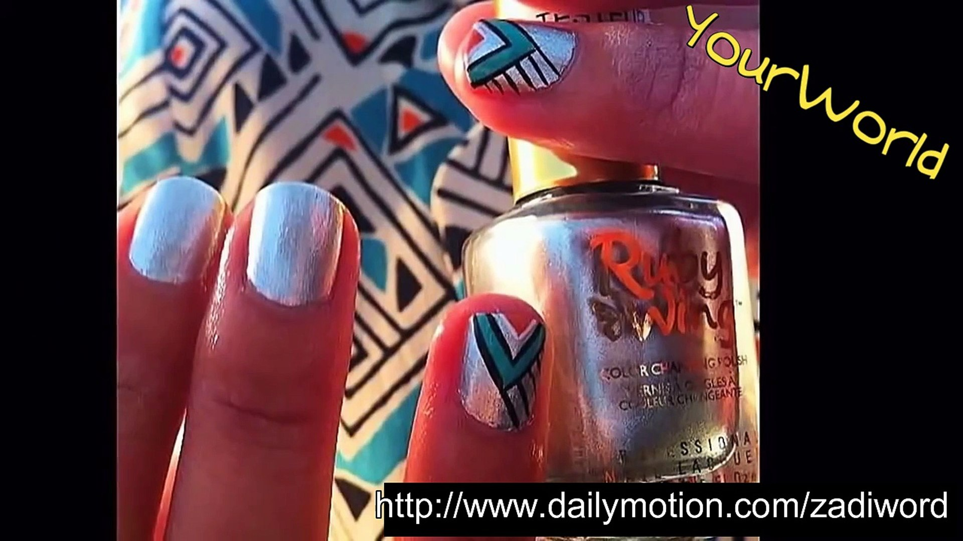 Liner Nail art Design -10 Beautiful art