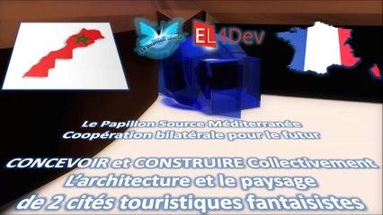 EL4DEV Le Papillon Source Méditerranée - Projet d'avenir France Maroc Europe Afrique Monde