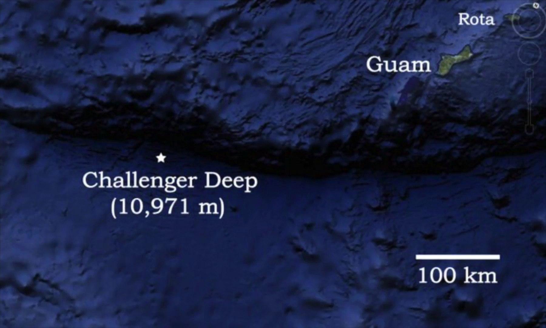 AUDIO : Enregistrements sonores depuis Challenger Deep (-11.000 m ...