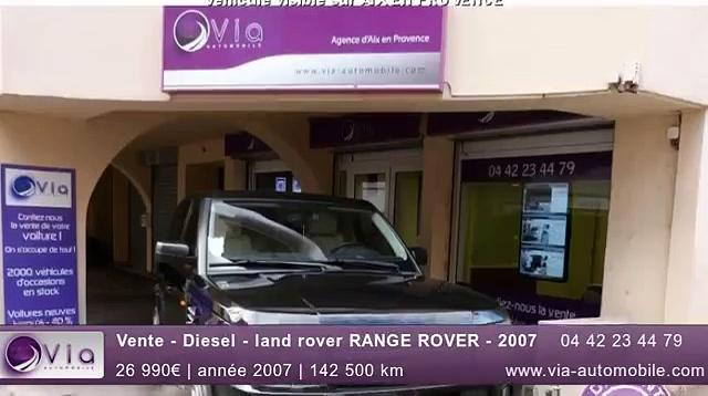 Vente – Diesel – land rover RANGE ROVER – 2007