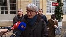 Jean-Claude Mailly (FO), Philippe Martinez (CGT) et Laurent Berger (CFDT) sur la loi travail