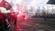 06/03/16 : SRFC-FCN : arrivée du bus du Stade Rennais