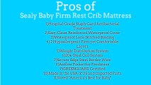 [BEST PRICE]Sealy Baby Firm Rest Crib Mattress em438-viv1 Review