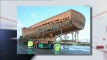 Concarneau : La Calypso sort de son hangar