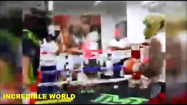 Floyd Mayweather KNOCKED OUT In Sparring Ahead Of $300m Manny Pacquiao Superfight(REPORT)!!!