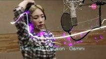 Taeyeon_Gemini(双子座)テヨンとカラオケ デュエット日本語字幕