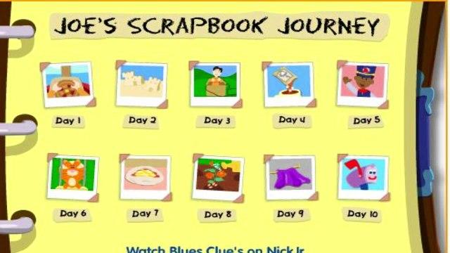 Blues Clues - Joes Scrapbook Journey - Blues Clues Games