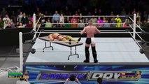 WWE 2K16 Extreme Moments and fails Montage ( S.2 Ep.9) (Crowd Glitches , DLC)