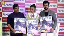 FILMFARE MAGAZINE COVER LAUNCH OF THEIR II LATEST ISSUE WITH ALIA & FAWAD KHAN