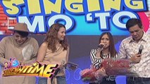 It's Showtime: Vice, hurt by Jolina's song