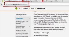 How To Install Android ADT, Eclipse, SDK And JDK For Windows And Mac