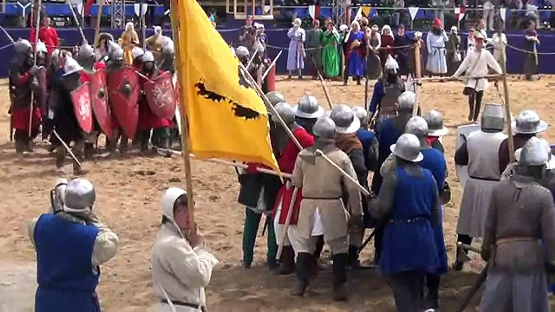 Времена и Эпохи 2013. Пехота. Бой в 4 отряда! Times & Epochs. Middle Ages