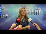 La cantante Edurne habla sobre su papel de jurado en 'Got Talent España'