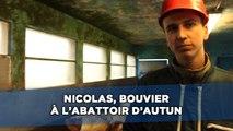 Nicolas, 18 ans, bouvier à l'abattoir d'Autun