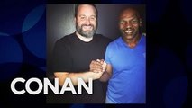 Tom Seguras Mid-Air Meeting WIth Mike Tyson - CONAN on TBS