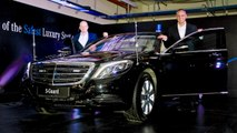 Mercedes Maybach S600 Guard launched Price and Specifications