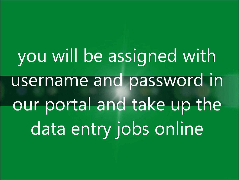 Data posting jobs
