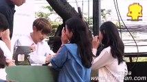"""5 หนุ่ม Sehun, Suho, Chen, Chanyeol, Xiumin วง """"EXO"""" เปิดตัวสาขาใหม่""""NATURE REPUBLIC"""" in Bangkok fansign"""