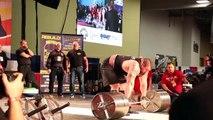 Record du monde : Eddie Hall soulève 462 kilos