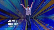 James Clifton dancing to 'Footloose' | Week 4 Auditions | Britain's Got Talent 2013