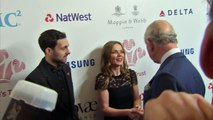 Geri Halliwell and Prince Charles catch up on the red carpet