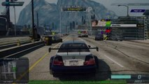 BMW M3 GTR vs Bugatti Veyron Vitesse - Need for Speed Most Wanted Online Race