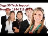 Sage 50 payroll support number  1844 313 4859