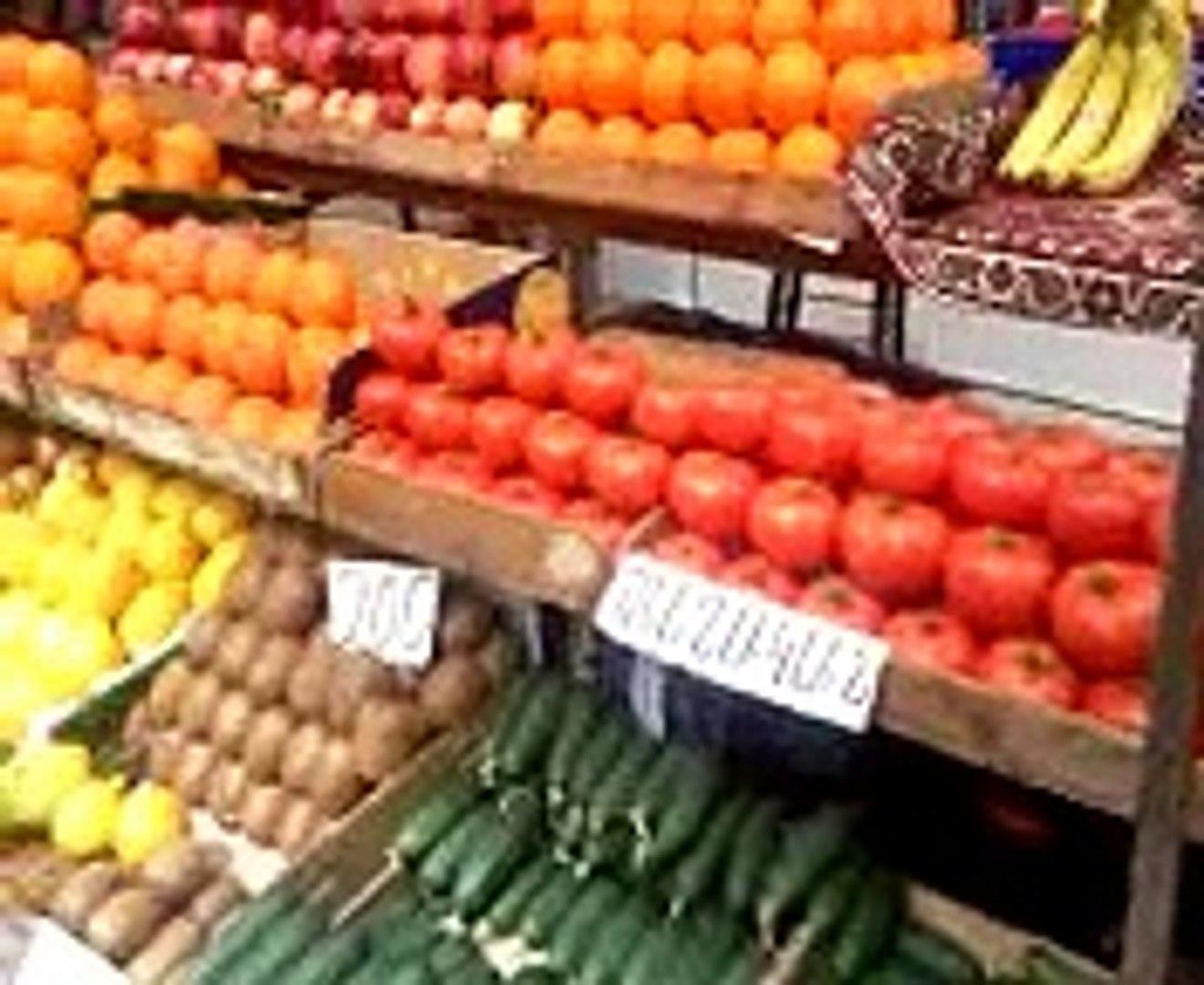 Фрукты и овощи на рынке (1)